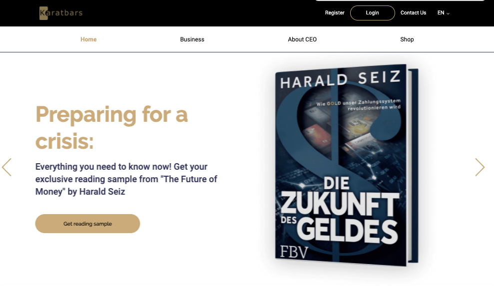 The Future of Money – Harald Seiz