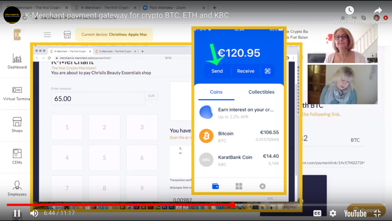 K-merchant - payment link